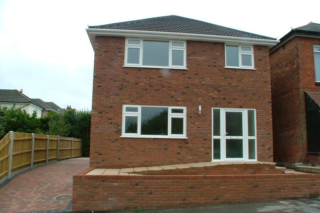 Thumbnail Detached house to rent in Bishop Road, Winton, Bournemouth