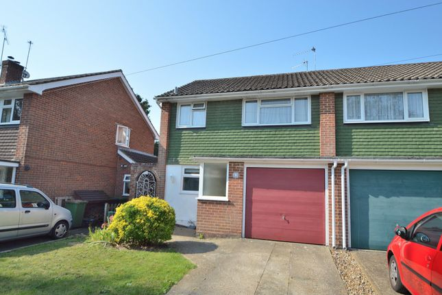 Thumbnail Semi-detached house for sale in Merrieleas Drive, Chandler's Ford, Eastleigh