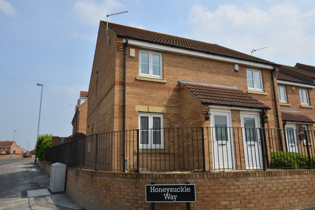 Thumbnail Semi-detached house to rent in Honeysuckle Way, Castleford