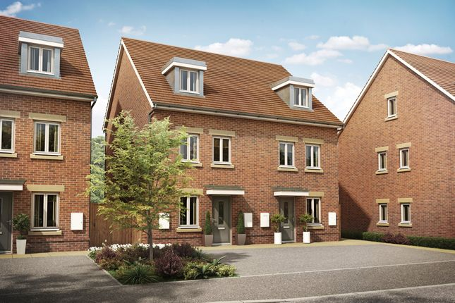 """Thumbnail Terraced house for sale in """"Norbury"""" at London Road, Hassocks"""