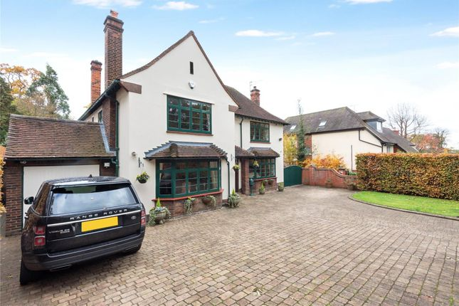 Thumbnail Detached house for sale in Warren Hill, Loughton, Essex