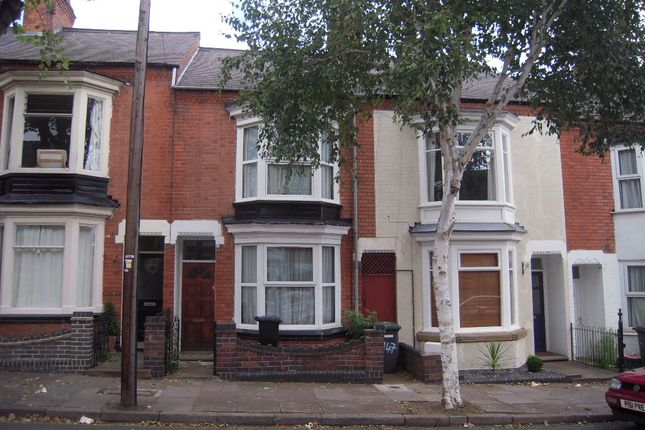 Thumbnail Terraced house to rent in Harrow Road, Leicester