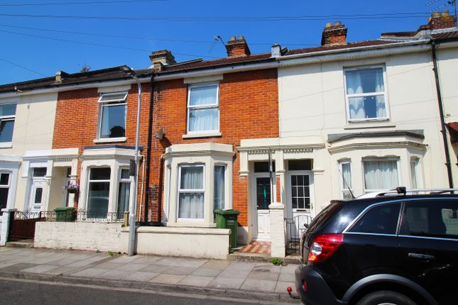 Thumbnail Terraced house to rent in Bath Road, Southsea