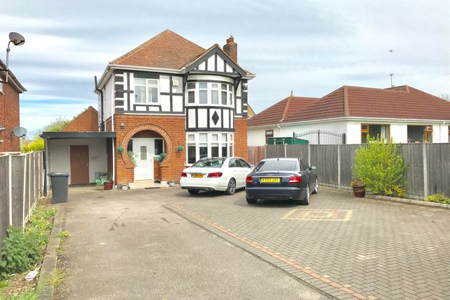 Thumbnail Detached house for sale in Scraptoft Lane, Leicester