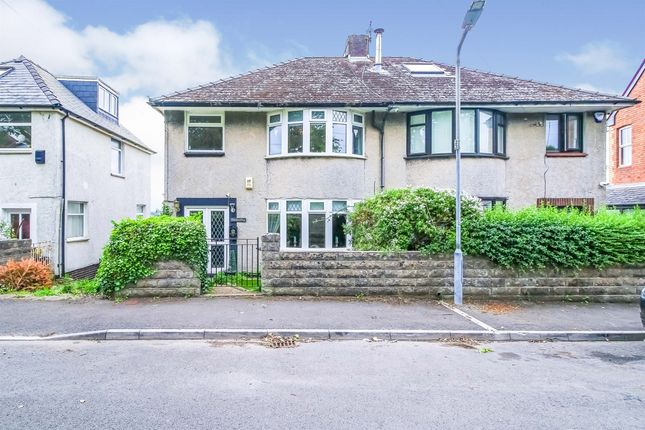Thumbnail Semi-detached house for sale in Victoria Park Road, Barry