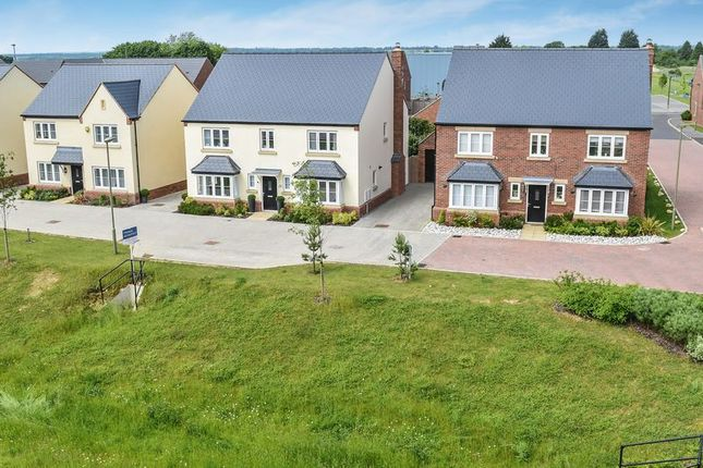 Thumbnail Detached house for sale in Broad Way, Upper Heyford, Bicester