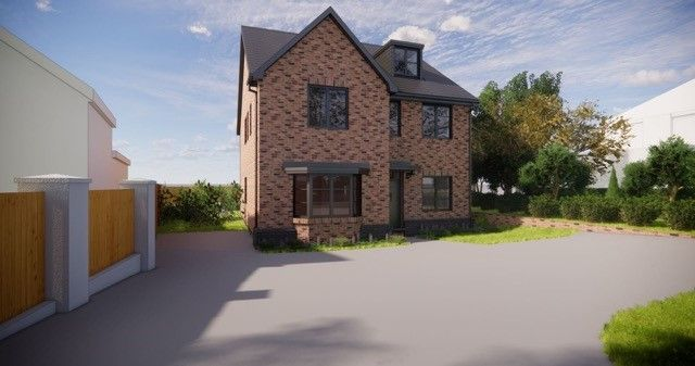 Thumbnail Detached house for sale in Abbots Way, Westlands, Newcastle