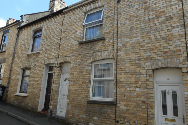Thumbnail Terraced house to rent in Sunny Bank, Barnstaple