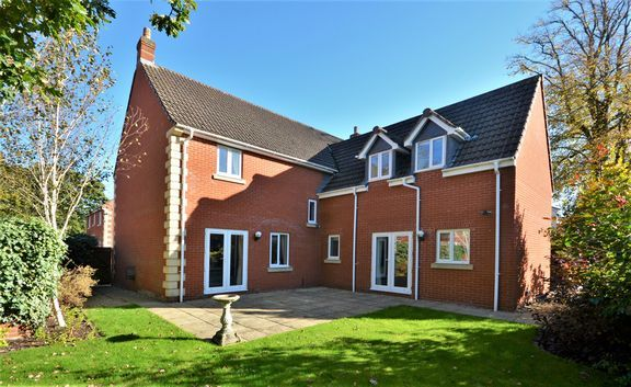 Thumbnail Detached house for sale in Redvers Way, Tiverton
