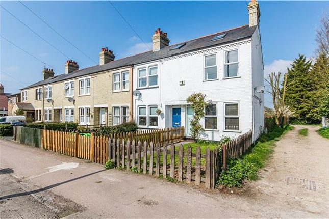Thumbnail End terrace house for sale in Fulbourn Road, Cherry Hinton, Cambridge