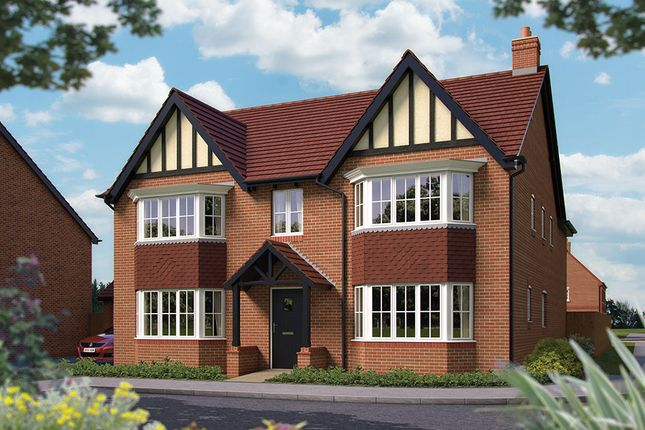 "Thumbnail Detached house for sale in ""The Ascot"" at Harbury Lane, Heathcote, Warwick"
