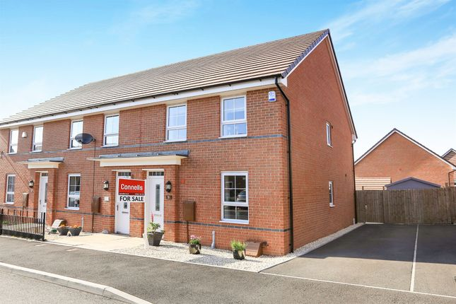 Thumbnail End terrace house for sale in Croft Gardens, Oxley, Wolverhampton