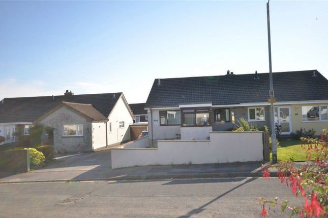 Thumbnail Semi-detached bungalow for sale in Pengelly Way, Threemilestone, Truro, Cornwall