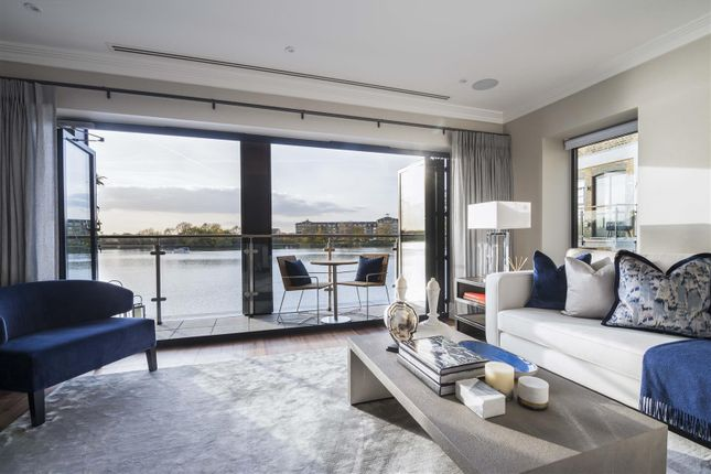 Thumbnail Property for sale in Oxbridge Terrace, Palace Wharf, Fulham
