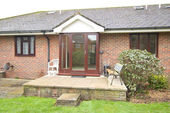 Thumbnail Detached bungalow for sale in Pyrford Gardens, Belmore Lane, Lymington, Hampshire