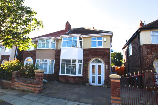 Thumbnail Semi-detached house for sale in Blenheim Avenue, Liverpool