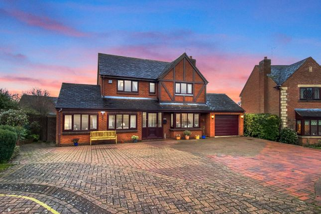 Thumbnail Detached house for sale in Broadwells Crescent, Westwood Heath, Coventry