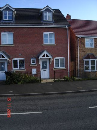 Thumbnail Town house to rent in Ermine Street, Ancaster, Grantham