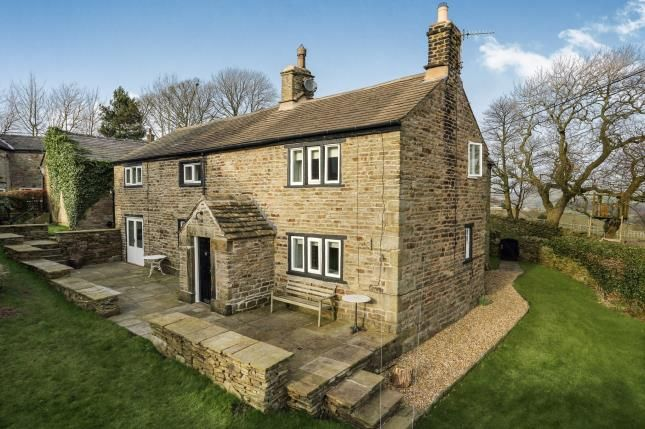 Thumbnail Detached house for sale in Whitle Fold, New Mills, High Peak, Derbyshire