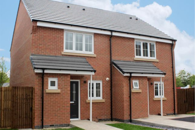 Thumbnail Semi-detached house for sale in Cottage Lane, Broughton Astley, Leicester