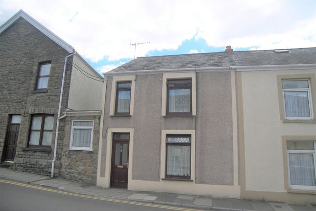 Thumbnail End terrace house for sale in Yeo Street, Resolven, Neath