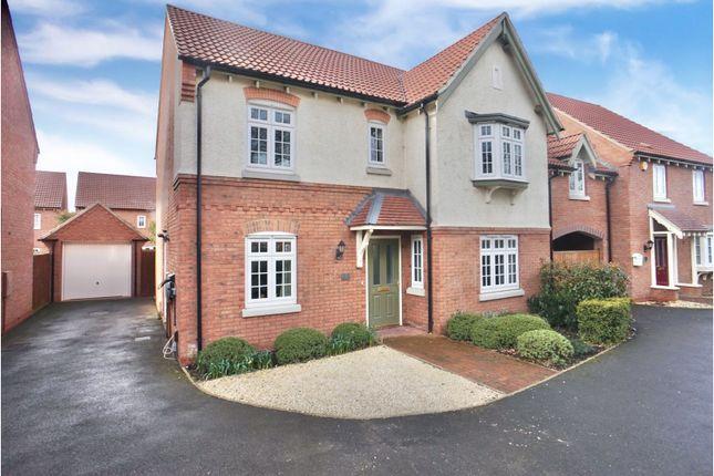 Thumbnail Detached house for sale in Meulan Lane, Weddington