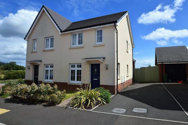 Thumbnail Semi-detached house for sale in Bryn Celyn, Llanharry, Pontyclun