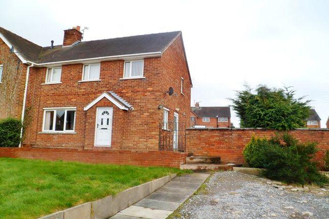 Thumbnail Semi-detached house for sale in Bryn Yr Onnen, Southsea, Wrexham
