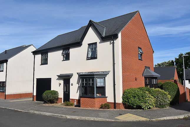 Thumbnail Detached house for sale in Old Quarry Drive, Exminster, Near Exeter