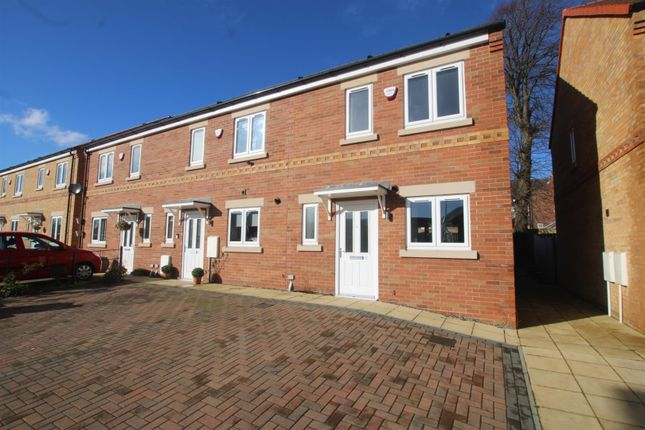 Thumbnail End terrace house for sale in The Sidings, Bishop Auckland