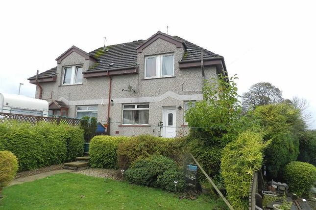 Thumbnail Semi-detached house for sale in Westcraigs Road, Harthill, Shotts