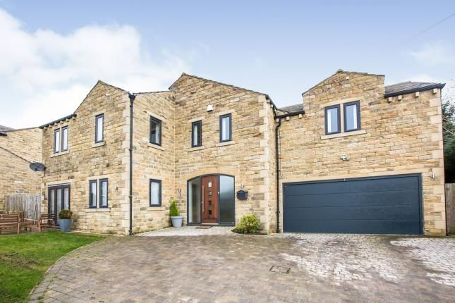 Thumbnail Detached house for sale in Scausby Mansions, Bradshaw, Halifax, West Yorkshire