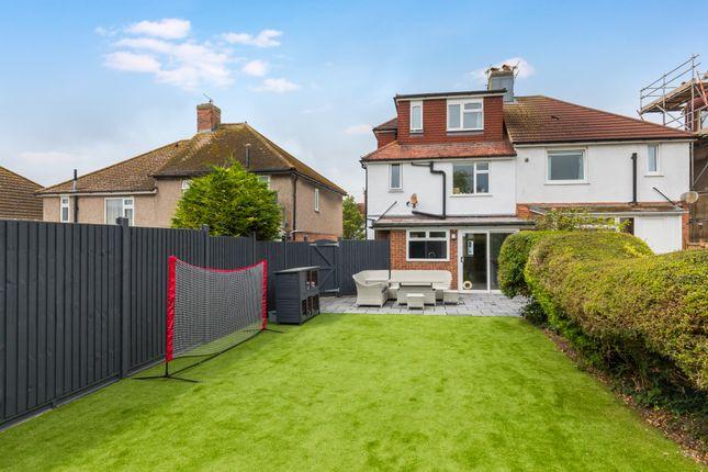 Thumbnail Semi-detached house for sale in Craignair Avenue, Brighton