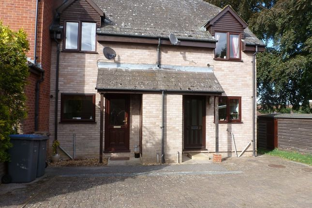 Thumbnail Terraced house for sale in Surrey Close, Framlingham, Woodbridge