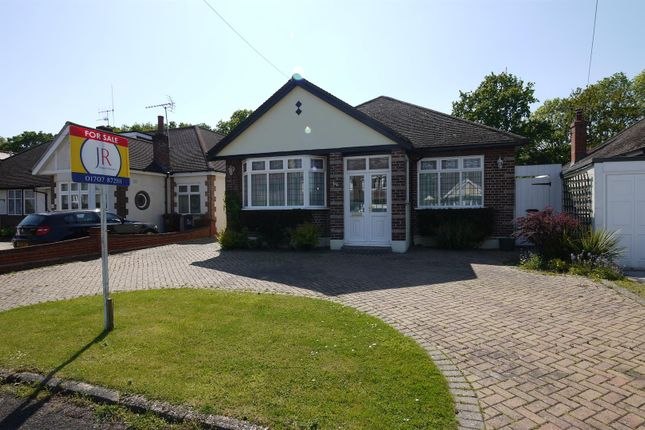 Thumbnail Detached bungalow for sale in The Meadway, Cuffley, Potters Bar