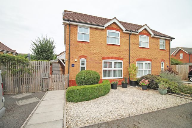 Thumbnail Semi-detached house for sale in Rectory Close, Wraxall, North Somerset