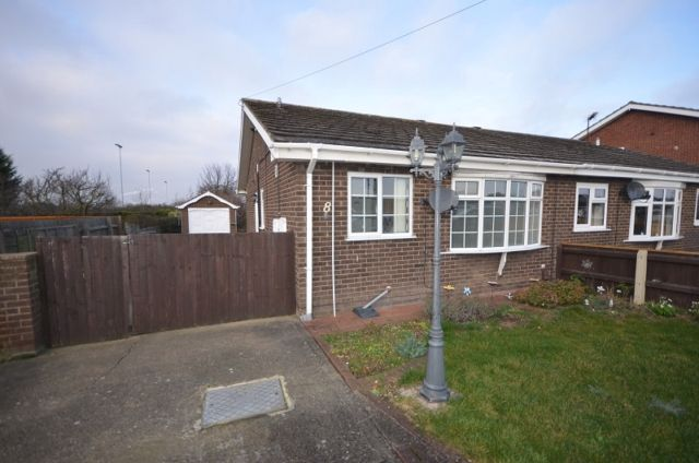 Thumbnail Semi-detached bungalow to rent in Hoylake Drive, Immingham