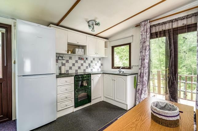 Kitchen Area of Ditton Mill Park, Cleobury Mortimer, Shropshire DY14