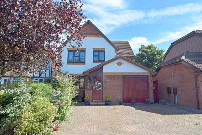 Thumbnail Detached house for sale in Wheatfield Close, Culllompton
