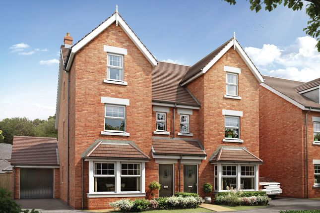 Thumbnail Town house for sale in Cherry Orchard, Lichfield