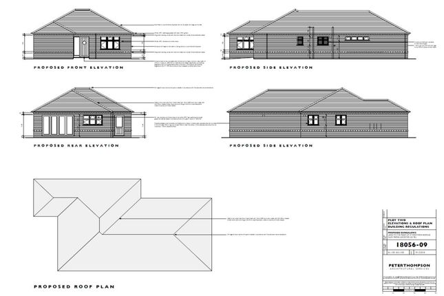 Thumbnail Bungalow for sale in Featherby Drive, Glen Parva, Leicester