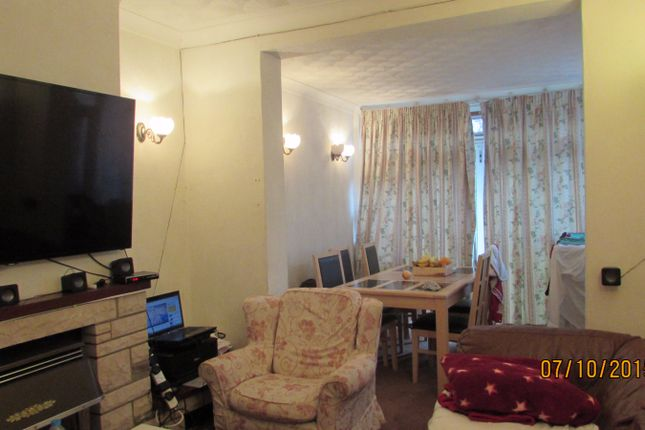 Thumbnail Terraced house to rent in Trelawney Road, Hainault