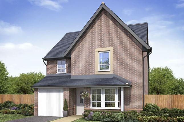 "Thumbnail Detached house for sale in ""Guisboro 1"" at Weddington Road, Nuneaton"