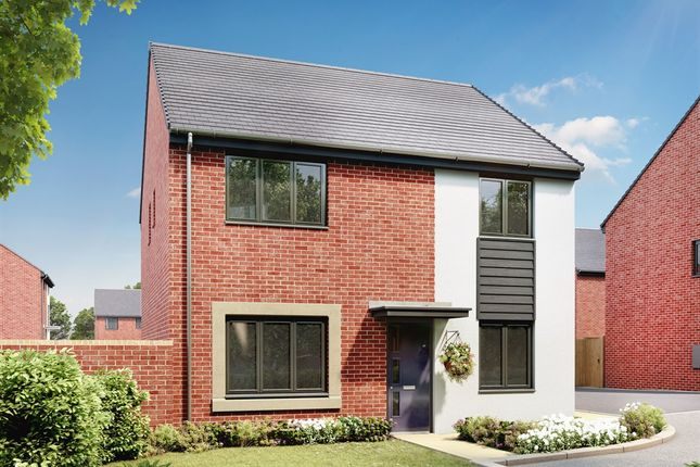 "Thumbnail 4 bed detached house for sale in ""The Knightsbridge"" at Llantrisant Road, Capel Llanilltern, Cardiff"