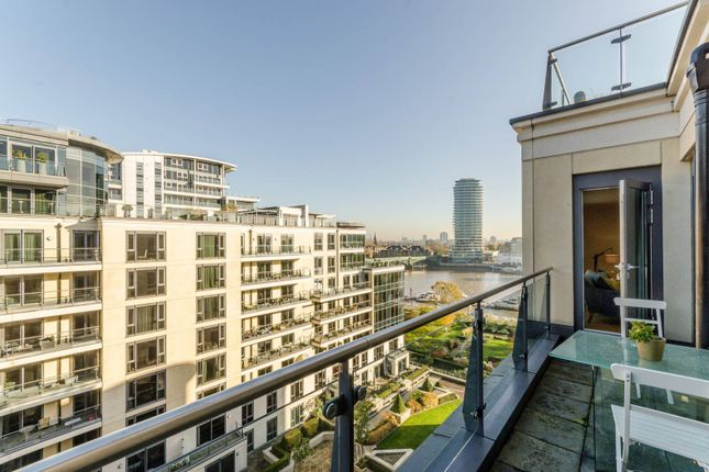 Thumbnail Flat to rent in Imperial Wharf, Imperial Wharf, London