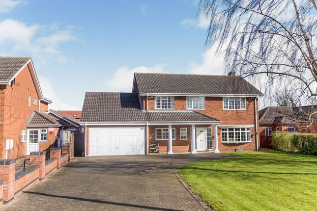 Thumbnail Detached house for sale in Croft Lane, Cherry Willingham, Lincoln