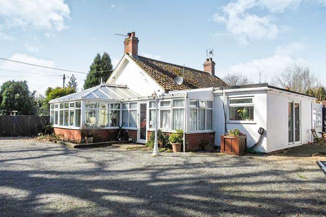 Thumbnail Detached bungalow for sale in Reepham Road, Briston, Melton Constable