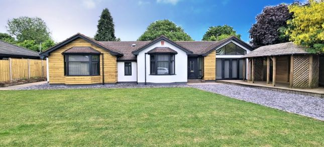 Thumbnail Bungalow for sale in Hilderstone Road, Stoke-On-Trent