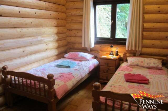River view log cabin melkridge ne40 2 bedroom lodge for for 2 bedroom log cabins for sale