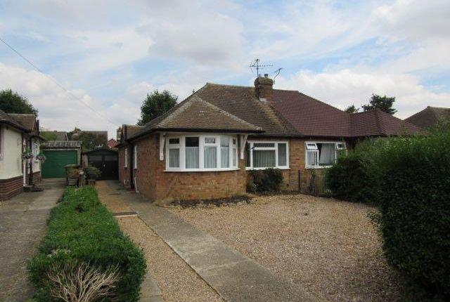Thumbnail Semi-detached bungalow to rent in Chapel Close, Toddington, Dunstable